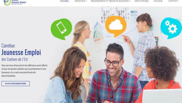 New Carrefour Jeunesse Emploi Website