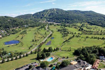 vue aérienne bromont_crédit chateau bromont
