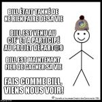 bill meme, site internet, déc 2017